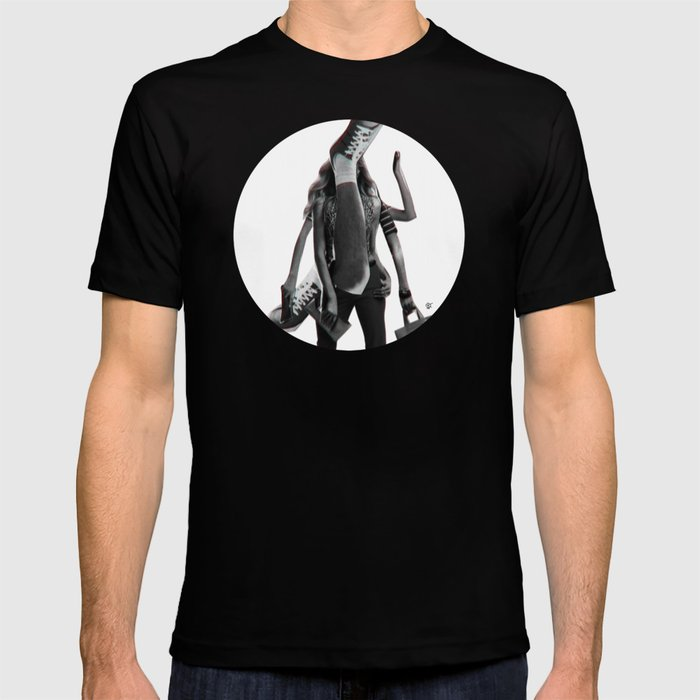 Build a Woman - Cut and Glue · Dizzy Miss Lizzy · Day · Crop Circle T-shirt