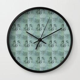 "Edgar Degas ""Two Dancers"" Wall Clock"