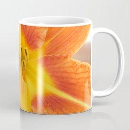 Close up of a orange lily Coffee Mug