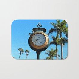 Fort Myers Clock II Bath Mat