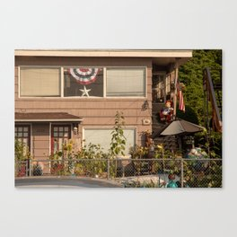 Seahawks and America Canvas Print