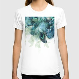 DREAMY FEATHERS & LEAVES T-shirt