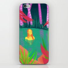 hidden lake iPhone & iPod Skin