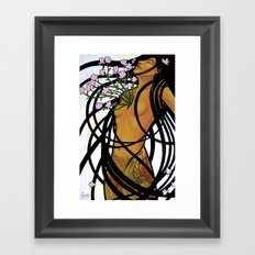 A Fearless Heart Framed Art Print