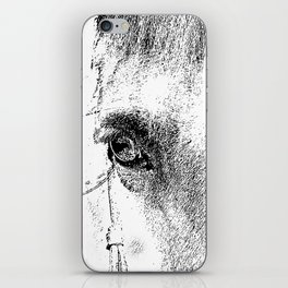 Eye of Horse iPhone Skin