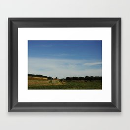 Southern French Country Side Framed Art Print