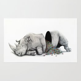 Rhino Slumber Rug