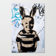 Happy kid Canvas Print