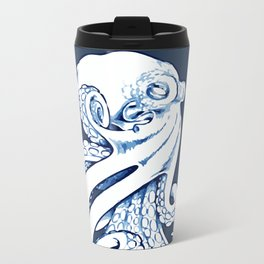 Octopus Metal Travel Mug