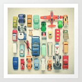 Free Parking Art Print