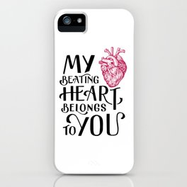 Beating Heart iPhone Case