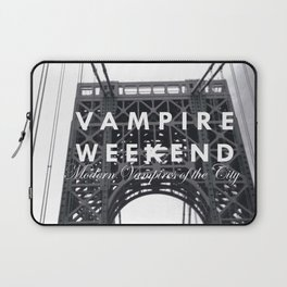 Vampire Weekend / George Washington Bridge Laptop Sleeve