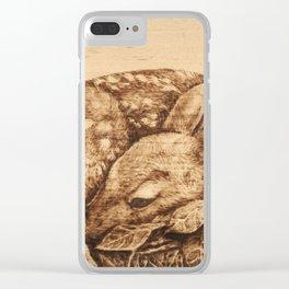 Hidden Treasure Clear iPhone Case