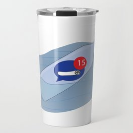 Messenger Bottle Travel Mug