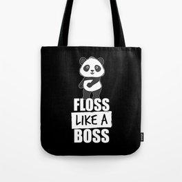 Panda Floss Like a Boss Tote Bag