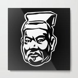 Sun Tzu Portrait Metal Print