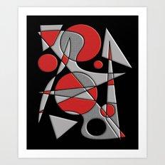 Abstract #284 Paladin Art Print