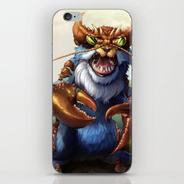 Wild Landlubber!~ iPhone Skin