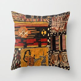 about meanders and lucky numbers Throw Pillow
