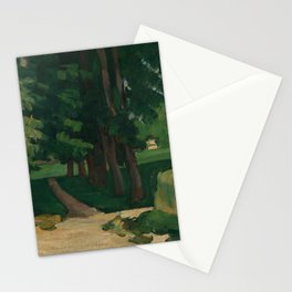 The Avenue at the Jas de Bouffan Stationery Cards