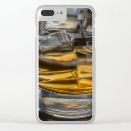 Scotch on the Rocks Clear iPhone Case