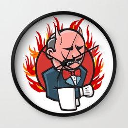 Jenkins on Fire Wall Clock