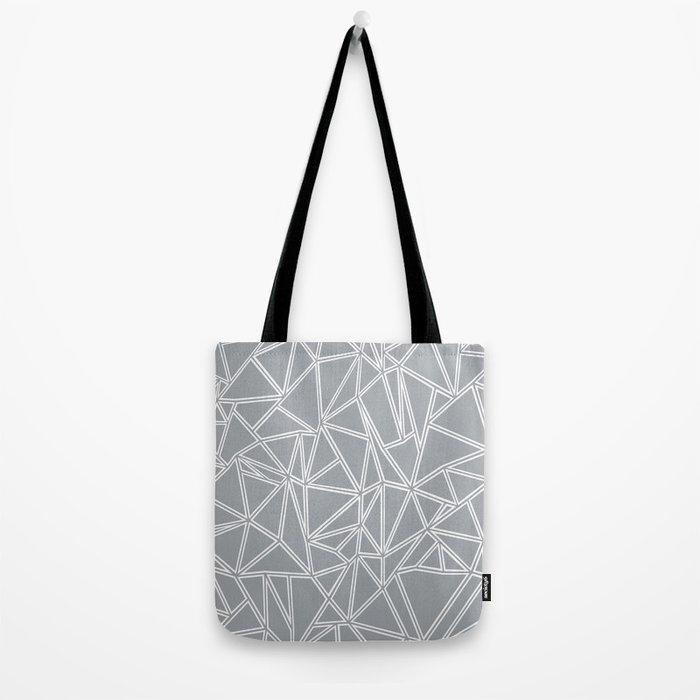 Ab Blocks Grey #2 Tote Bag