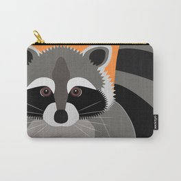 Raccoon Mischief Carry-All Pouch