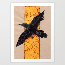 Crow 1 Art Print