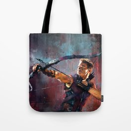 Clint Barton Tote Bag