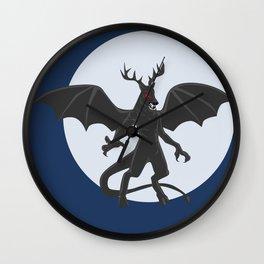 Jersey Devil Wall Clock