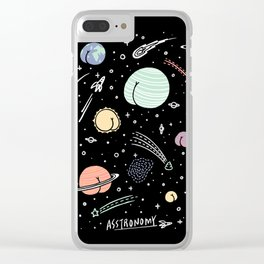 Asstronomy Clear iPhone Case