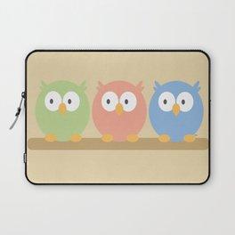 three owls Laptop Sleeve