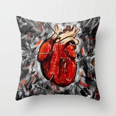 Heart & Arrows Throw Pillow