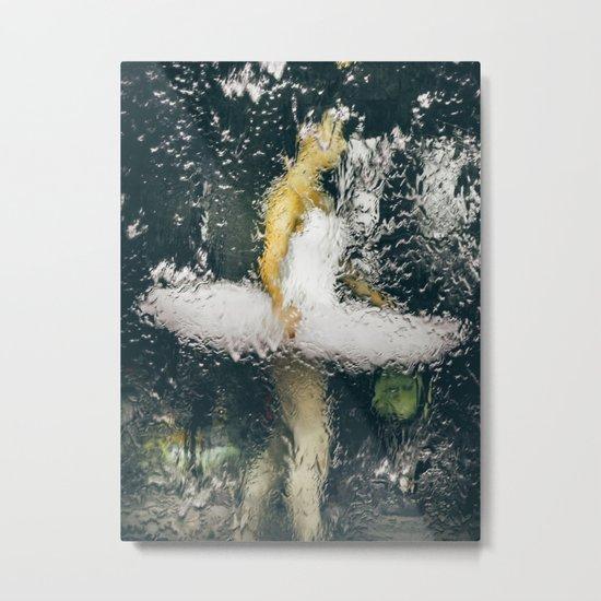Beautiful Ballerina Waters Metal Print