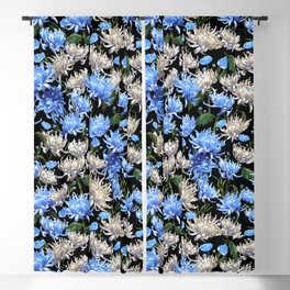 Blue Mums Design — L Diane Johnson Blackout Curtain