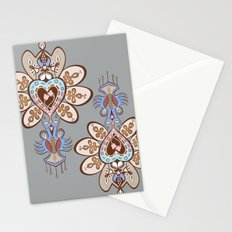 Flowering Heart Stationery Cards