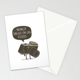 Nunca salgo en las fotos Stationery Cards
