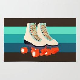 Retro Roller Skates Rug