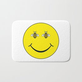 Bee happy Bath Mat