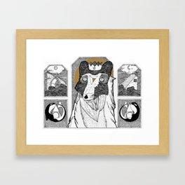 Seafox Framed Art Print