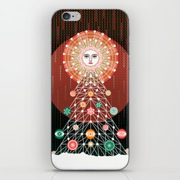 Christmas Tree by ©2018 Balbusso Twins iPhone Skin