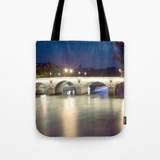 Bridges of Paris by Night Tote Bag