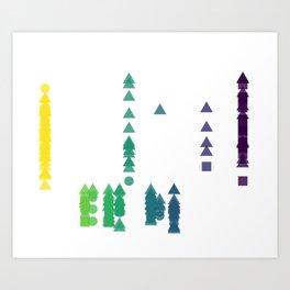 Fork Length Art Print