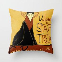 Vulcan du Star Trek Throw Pillow