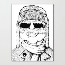 Bitchin' Canvas Print