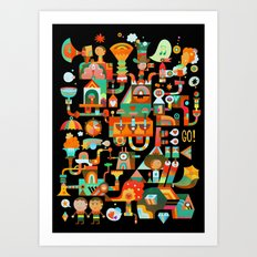 The Chipper Widget (Remix) Art Print
