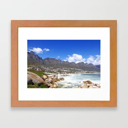 Lovely Cape Town, South Africa Framed Art Print