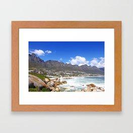 Lovely Cape Town, South Africa Framed Art Print