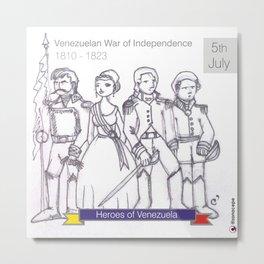 Venezuelan Independence Day Metal Print